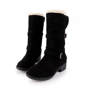 Mid Calf Boots Shoes