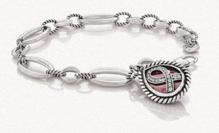 "Brighton ""Power of Pink"" Breast Cancer Awareness collectible bracelet 2014 NEW $60 tag"