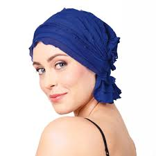 French Collection - Azure blue-Alexandria by Chemo Beanies®