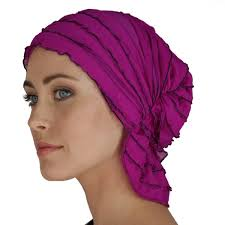 French Collection - Bright Purple - Delanie by Chemo Beanies® - Hello Courage | Chemo Hats - Cancer Caps - Cancer Scarves - Headcovers - Cancer Beanies - Headwear for Hair Loss - Gifts for  Cancer Patients with Hair Loss - Alopecia
