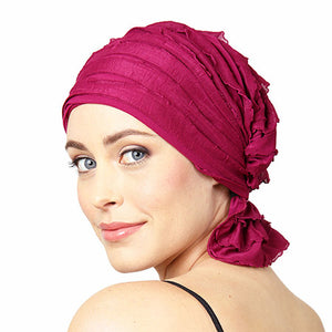 French Collection - Magenta - Kathryn by Chemo Beanies®