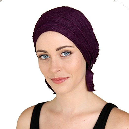 French Collection - Purple  Lena by Chemo Beanies®