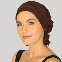 French Collection - Chocolate Brown - Janice by Chemo Beanies®