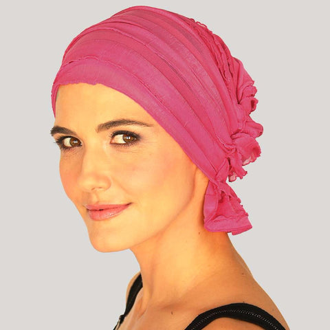 French Collection - Fuschia Pink Solid - Carol by Chemo Beanies®