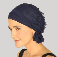 French Collection - NAVY Blue - Betty by Chemo Beanies®