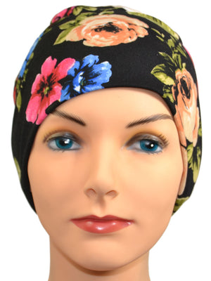 Energy Beanies Collection - Tahiti - Hello Courage | Chemo Hats - Cancer Caps - Cancer Scarves - Headcovers - Cancer Beanies - Headwear for Hair Loss - Gifts for  Cancer Patients with Hair Loss - Alopecia
