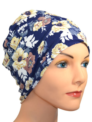 Energy Beanies Collection - Aruba - Hello Courage | Chemo Hats - Cancer Caps - Cancer Scarves - Headcovers - Cancer Beanies - Headwear for Hair Loss - Gifts for  Cancer Patients with Hair Loss - Alopecia