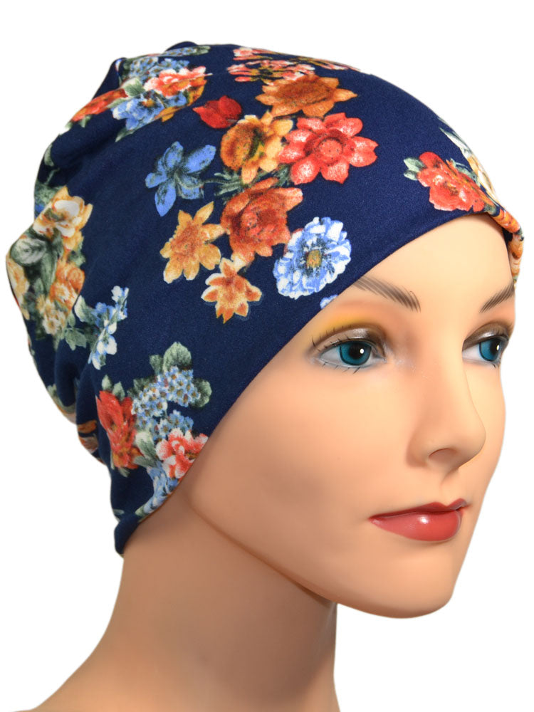 Energy Beanies Collection - Garden of Plenty - New - Hello Courage | Chemo Hats - Cancer Caps - Cancer Scarves - Headcovers - Cancer Beanies - Headwear for Hair Loss - Gifts for  Cancer Patients with Hair Loss - Alopecia