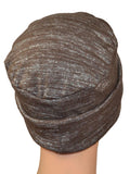 Rollup - Cocoa Brown, Gray ULTRA SOFT knit - CUSTOMER FAVORITE