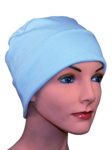 Cozy Collection Rollup - Blue Sea - CUSTOMER FAVORITE - Hello Courage | Chemo Hats - Cancer Caps - Cancer Scarves - Headcovers - Cancer Beanies - Headwear for Hair Loss - Gifts for  Cancer Patients with Hair Loss - Alopecia