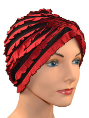 French Collection...Red & Black Ruffles - 2 hats included - New for SPRING!