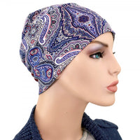 Activity Collection -Denim Blue Paisley