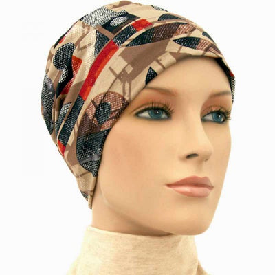 Activity Collection - The Browns - Hello Courage | Chemo Hats - Cancer Caps - Cancer Scarves - Headcovers - Cancer Beanies - Headwear for Hair Loss - Gifts for  Cancer Patients with Hair Loss - Alopecia