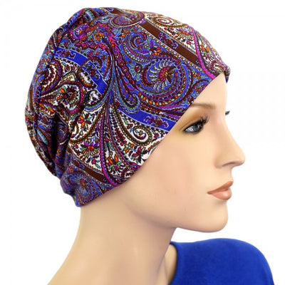 Activity Collection -Fall Paisley - Hello Courage | Chemo Hats - Cancer Caps - Cancer Scarves - Headcovers - Cancer Beanies - Headwear for Hair Loss - Gifts for  Cancer Patients with Hair Loss - Alopecia