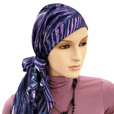 SCARVES & HEADWRAPS - Pre-Tied and Easy Tie
