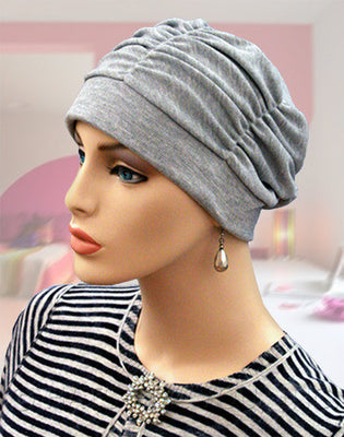 Gathered in Glory  - Sweatshirt Gray -  #1 BESTSELLER - Hello Courage | Chemo Hats - Cancer Caps - Cancer Scarves - Headcovers - Cancer Beanies - Headwear for Hair Loss - Gifts for  Cancer Patients with Hair Loss - Alopecia