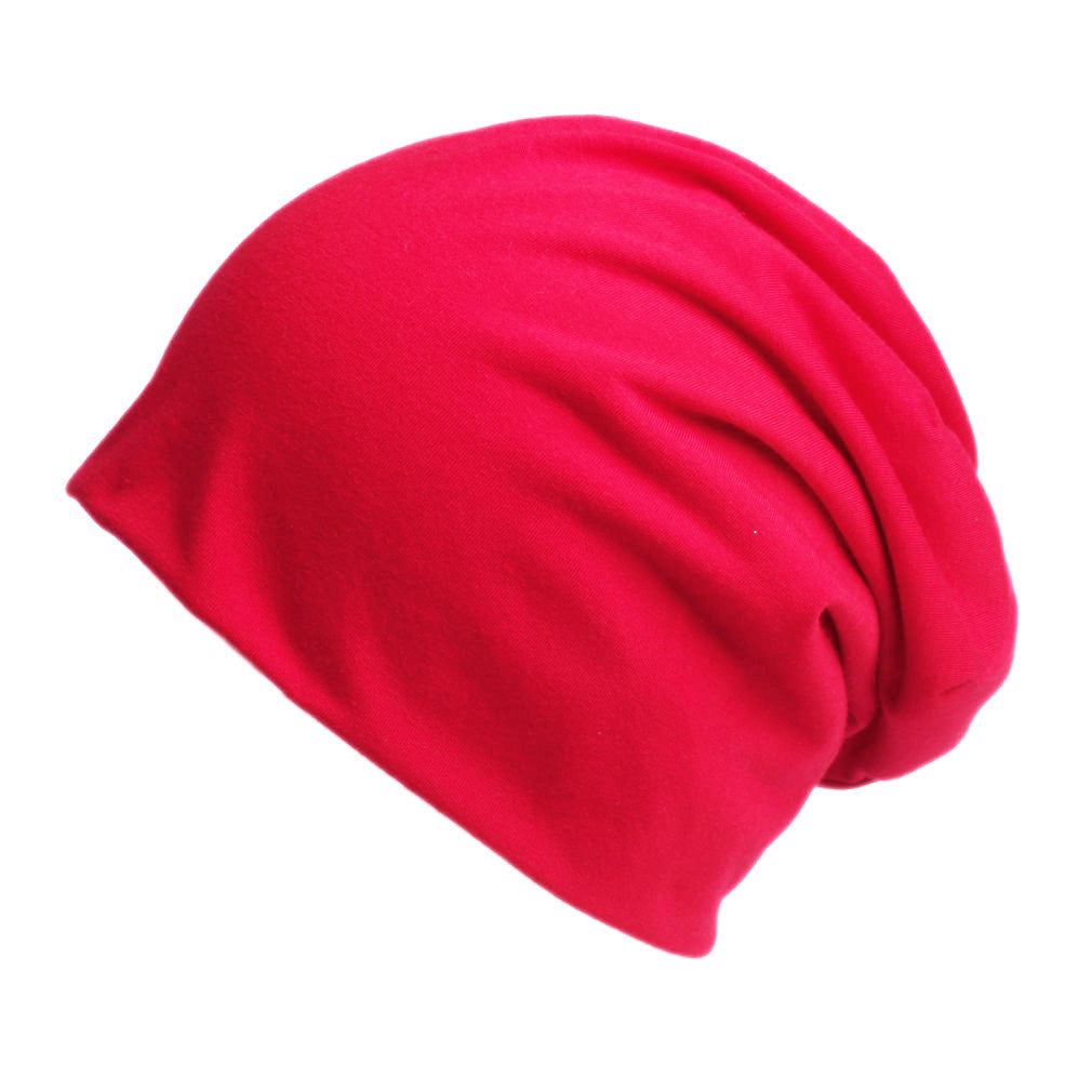 Slouchy Beanie in Red - Size Large - Hello Courage | Chemo Hats - Cancer Caps - Cancer Scarves - Headcovers - Cancer Beanies - Headwear for Hair Loss - Gifts for  Cancer Patients with Hair Loss - Alopecia