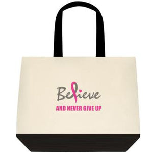 TOTE BAG - Believe and Never Give Up