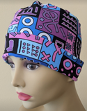 Energy Beanies - African Print - Small / Medium and Large