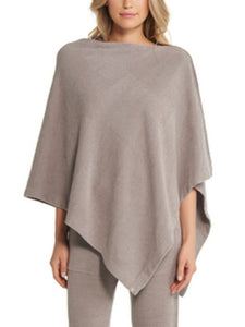 Barefoot Dreams Cozychic Ultra Lite Poncho - Beach Rock - Spinout