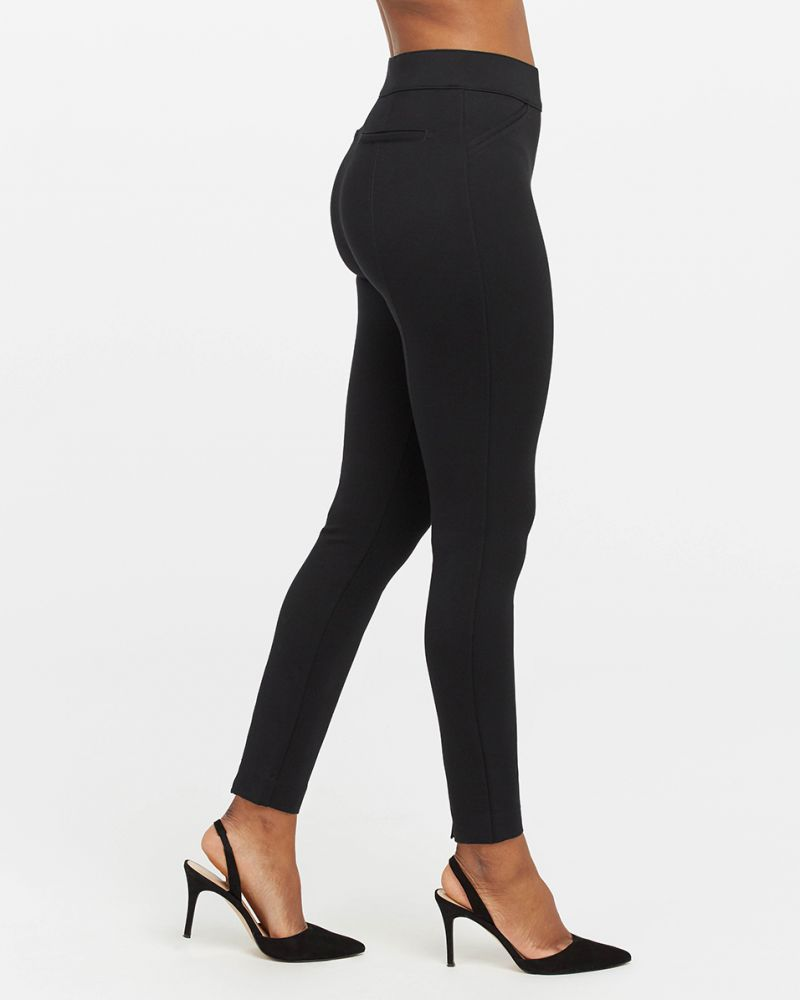 Spanx The Perfect Black Pant, Ankle Backseam Skinny