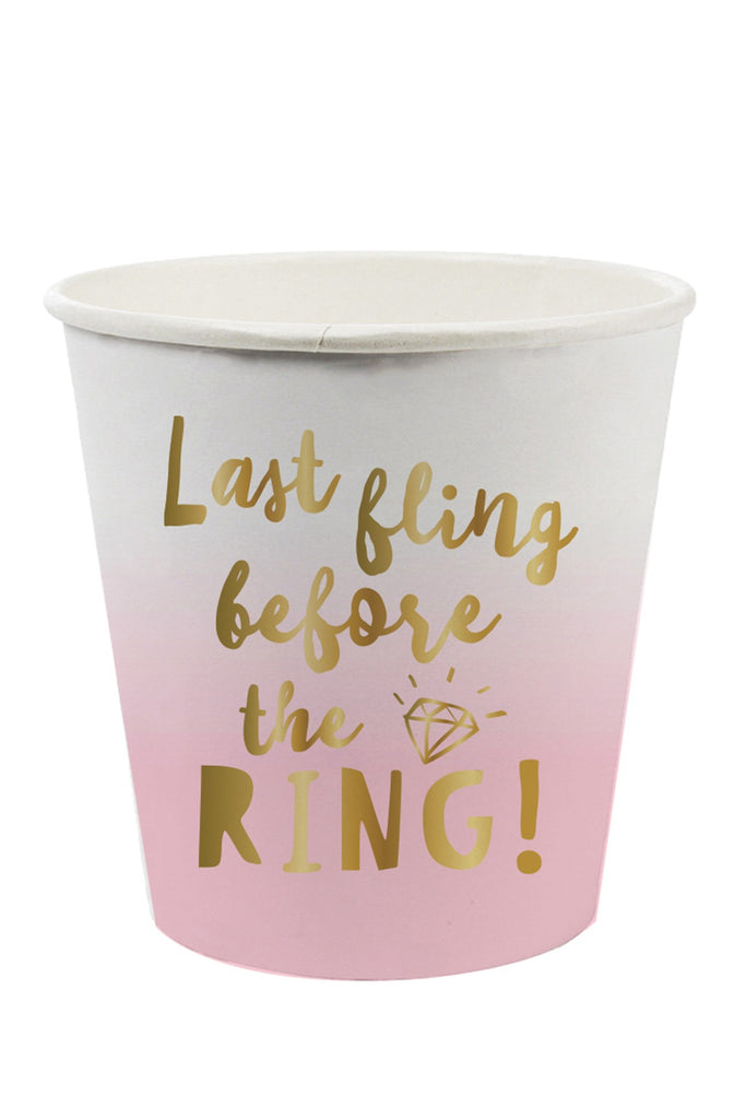 SLANT Collections Paper Shot Cups - Last Fling