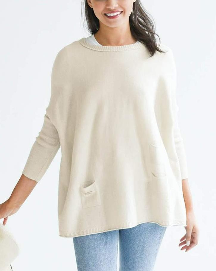 Mer-Sea & Co. Catalina Travel Sweater - Sand