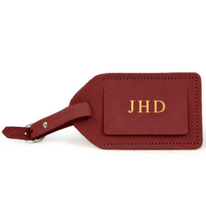Jon Hart Luggage Tag available at Spinout in Tyler TX