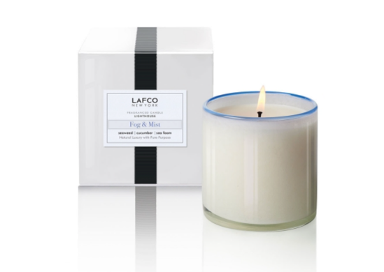 Lafco Fog and Mist - Lighthouse Signature Candle - Spinout