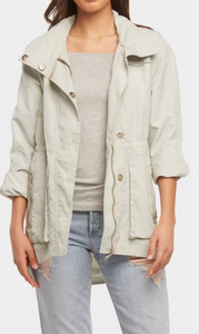 Tart Collections Cory Jacket- Light Sage - Spinout