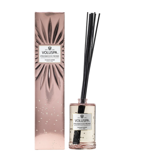 Voluspa Fragrant Oil Diffuser - Prosecco Rose