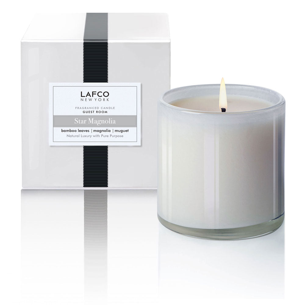 Lafco Star Magnolia - Guest Room Candle - Spinout