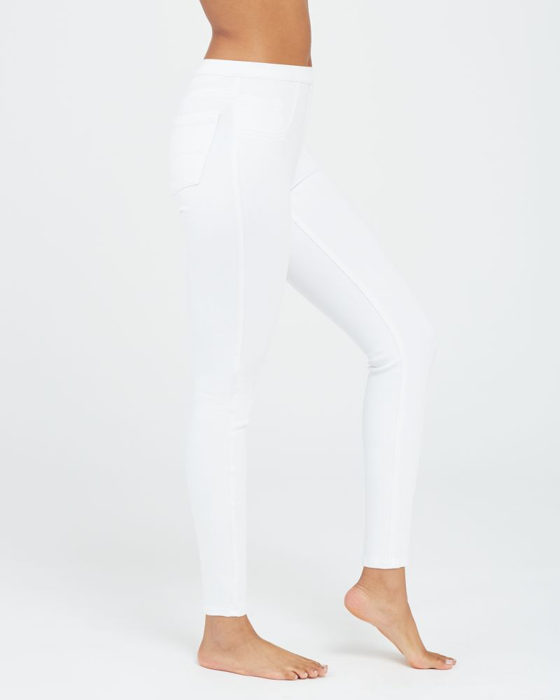 Spanx Jean-Ish® Ankle Leggings - White