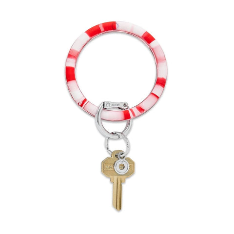 O-Venture - Silicone Big O Key Ring - Cherry on Top Marble
