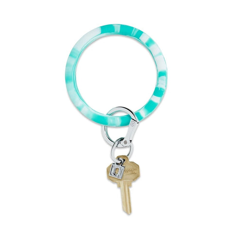 O-Venture - Silicone Big O Key Ring - In the Pool Marble