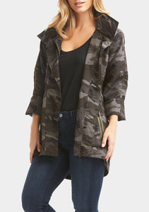 Tart Collections Cory Jacket- Black Camo