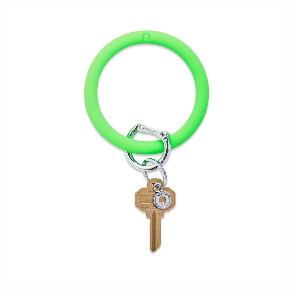 O-Venture - Silicone Big O Key Ring - In the Grass