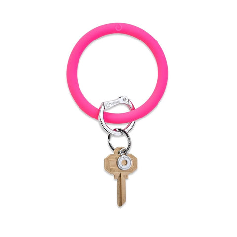 O-Venture - Silicone Big O Key Ring - Tickled Pink