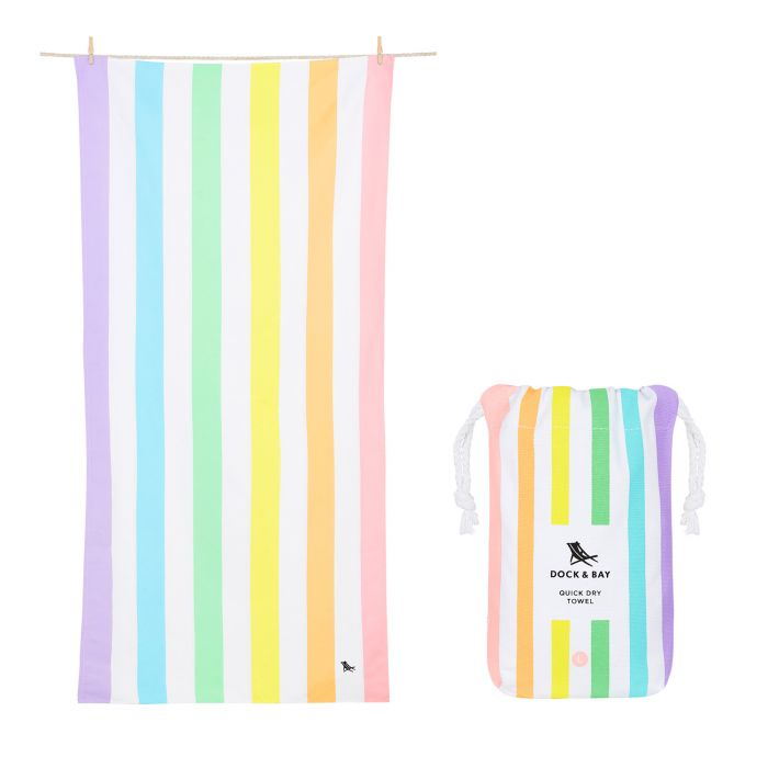Dock & Bay Quick Dry Summer Towel - Unicorn Waves - Spinout