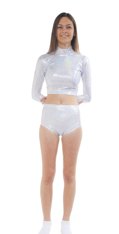 Youth Metallic Regular Cut Brief