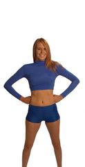 Adult Polyspandex Crop Top