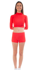 Youth Polyspandex Crop Top