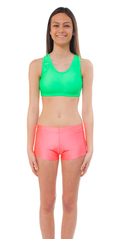 Youth Nylon/Spandex Sport Bra