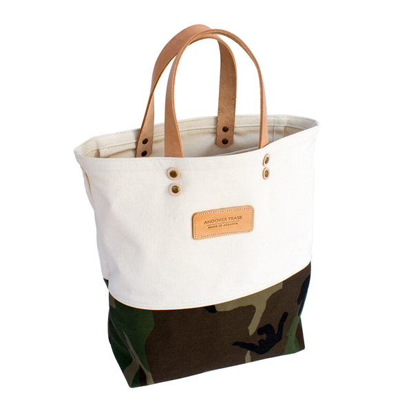 Camouflage Tote from Andover Trask Bag Co. in Atlanta