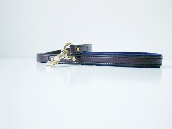 Dog Leash - Havana/Navy