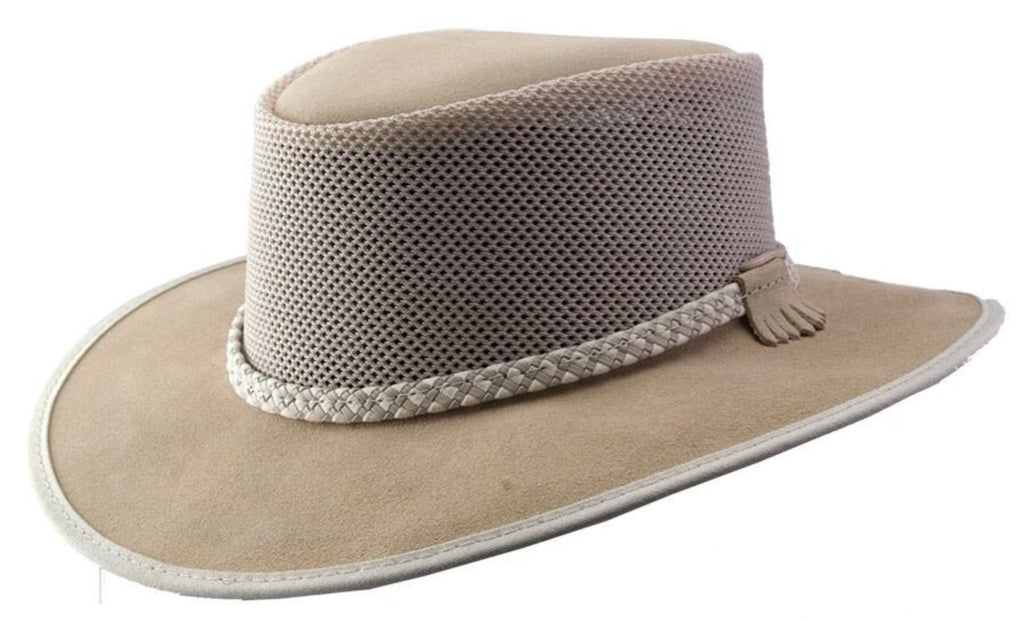 Hat - Breeze Suede and Mesh - Latte