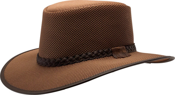 Hat - Soaker Mesh - Brown