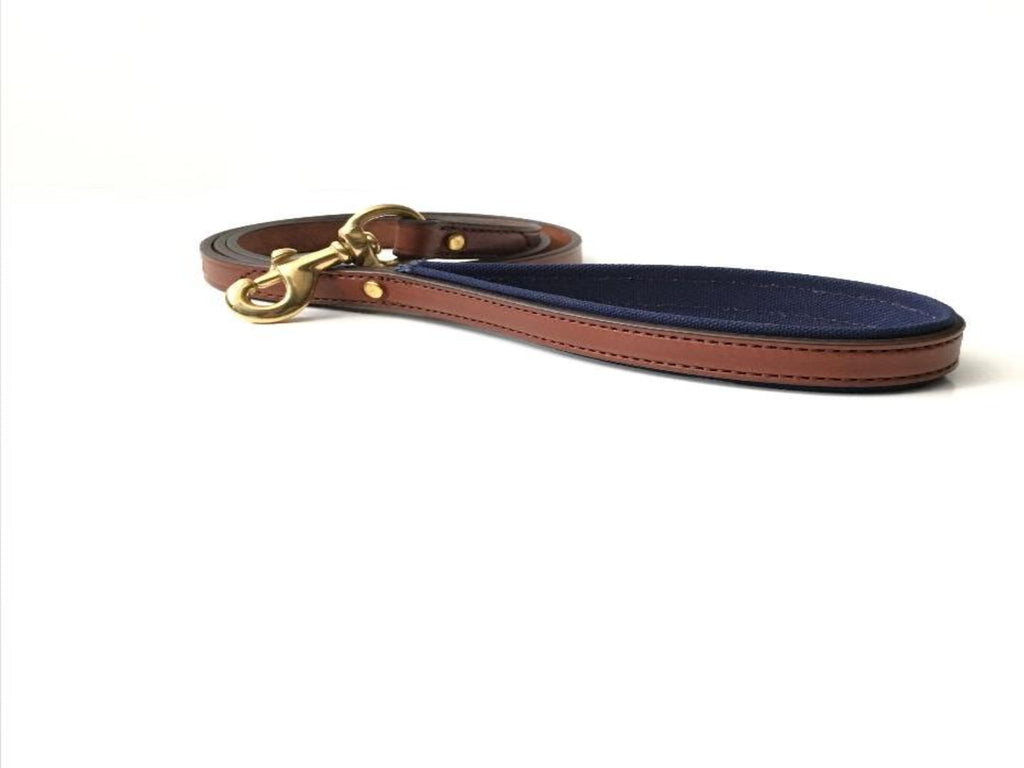 Dog Leash - Oak Bark/Navy