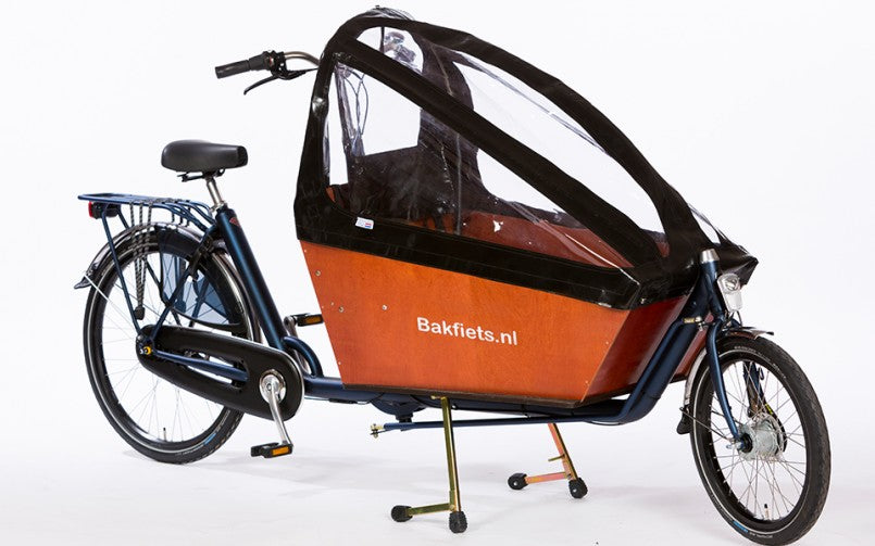 Bakfiets.nl Cargo Bike Long Compared to the Milano Cargo Bike Long