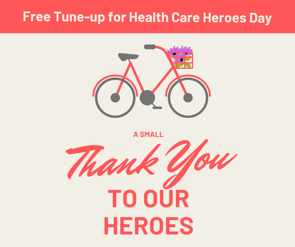A small thank you to our COVID-19 health care heroes